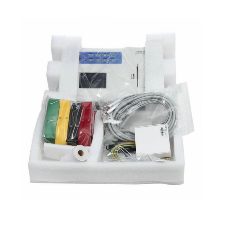 Factory price qualified portable 3 Channel ECG machine