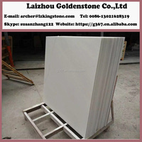 China Natural Snow white Marble tiles natural split marble