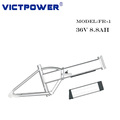 Victpower 36v 8.8ah lithium battery pack for Electric bicycle and motocycle