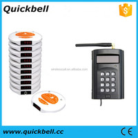 Restaurant Coaster Pager Guest Call Wireless Paging Queuing System