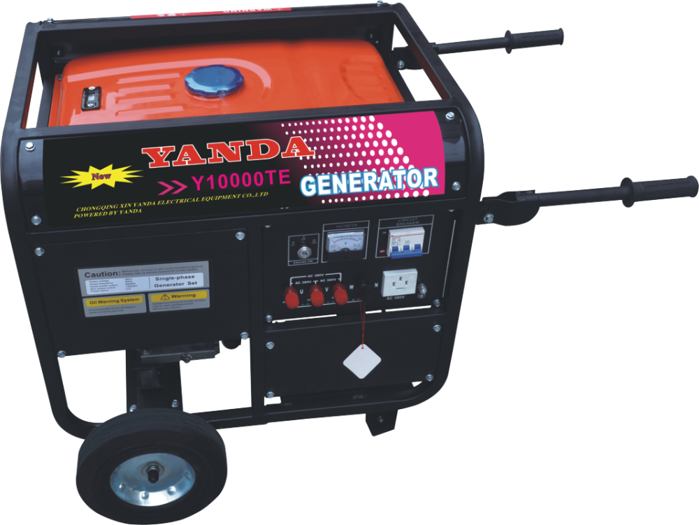 8kw dual fuel generator with LPG and gasoline
