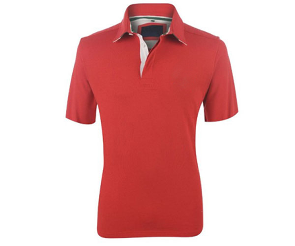 Short sleeve polo shirt, a cheap price, and home wash are possible