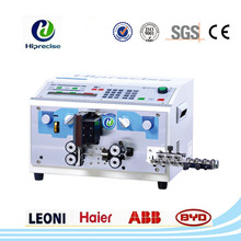 Computerized wire stripping and cutting machine for economical model
