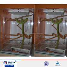 acrylic reptile display cases, reptile/pet display cages, pet display