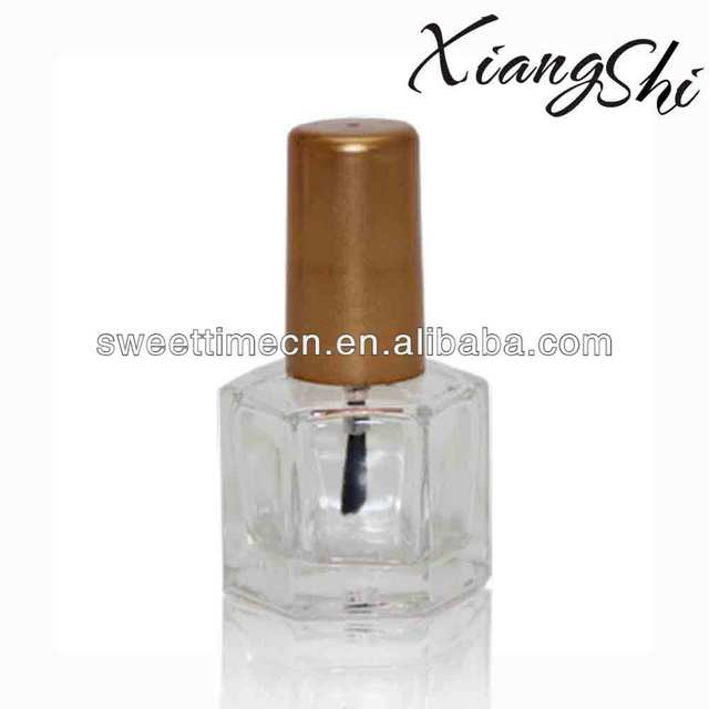 special shaped glass nail polish bottles