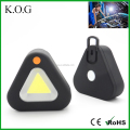 Triangle Shape Magnetic Battery LED Work Light with hook
