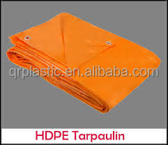 HDPE Woven fabric PE Tarpaulin from China