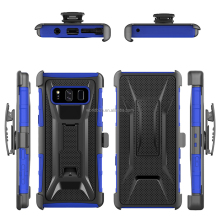Hybrid Dual Layer Armor Defender Protective Case Cover + Belt Clip Holster for Samsung Note 8