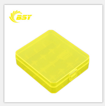 18650 battery box, plastic 18650 battery case with multi colors
