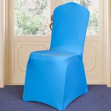 plain dyed high quality 100% polyester heat resistant chair cover