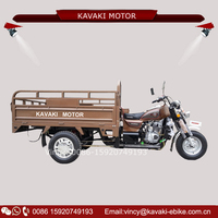 KAVAKI Three Wheel Motorcycles 150CC/200CC Cheap Cargo Truck Tricycle Factory