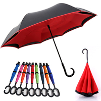 Hight quality magic C hook handle kazbrella umbrella