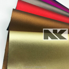 NK P020 PU matte metallic Leather for bags and shoes