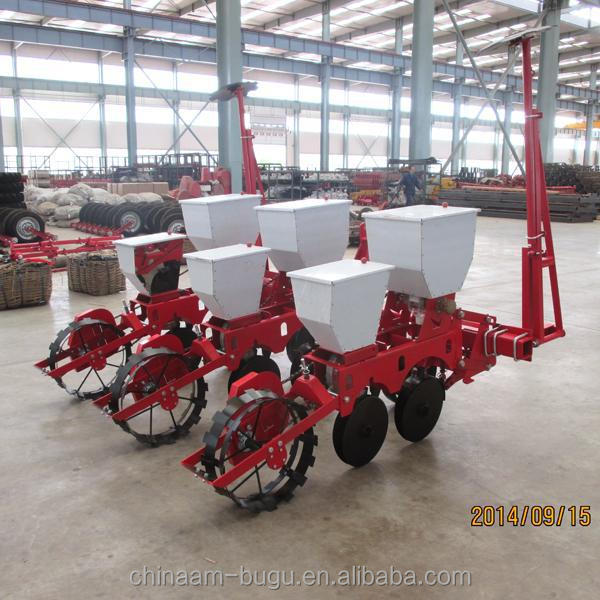 35hp tractor mounted 2 row corn planter for middle-sized farm