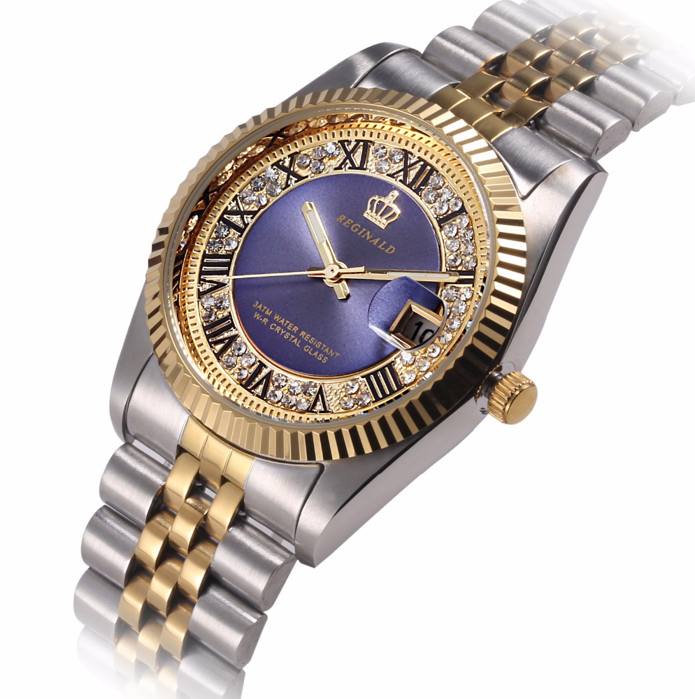 2016 Luxury Brand Men Quartz Goldlis Wrist Watch Japan Movt Watch 3ATM <strong>Water</strong> Resistant