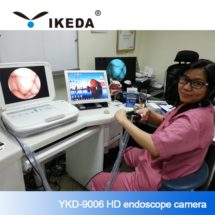 Portable Video endoscope camera Laryngoscope Otoscope Imaging System