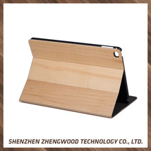 Wood carving Fashionable Pattern design wood case plastic cover wood cell case For iPad mini