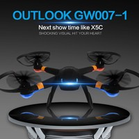 2015 NEW design products vs syma x5c rc quadcopter professional drone with HD camera flying toy GW007-1