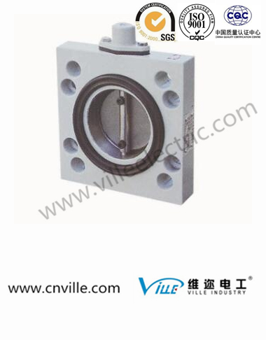 BDZ vacuum valve connected cast cover type butterfly valve/transformer valve