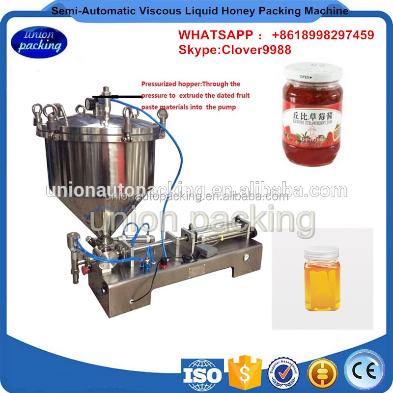 Pneumatic Semi-Auto one-head Cream bottling Filling Machine with hand gun(sauce doser with hand trigger, pastry machine)