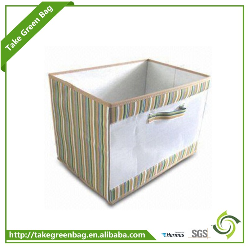Canvas cover multipurpose storage organizer box