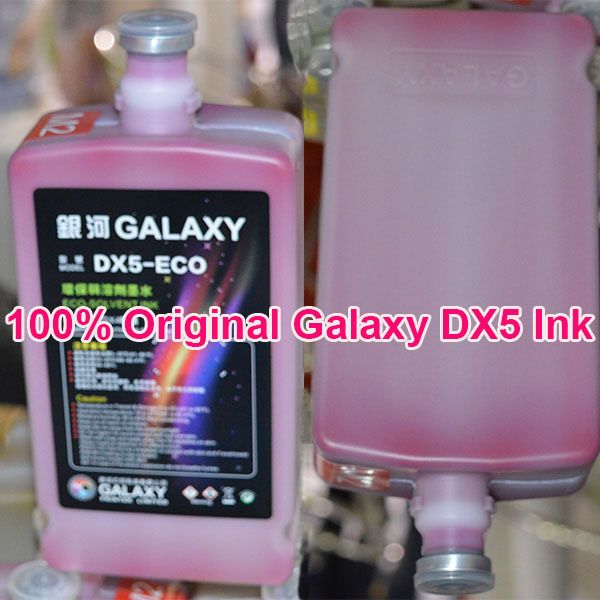 China Alibaba wholesale Universal Eco solvent ink for DX5/DX6/DX7 1000ML