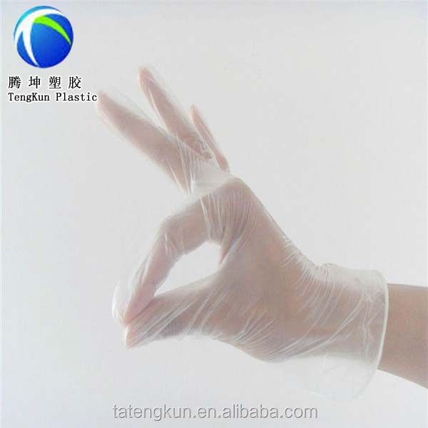 cheap plastic big kitchen disposable pe hand Glove