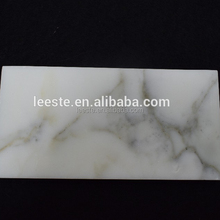 Best Price Italian Imported Calacata White Brick Marble With Gold Vein