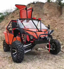 Super Cool 4 Wheel All Terrain Country-Cross Adult ATV Motorcycle, 200CC 4 Stroke Oil Cooling Racing ATV Trike