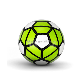 high quality official size 5 PVC soccer ball machine stitched