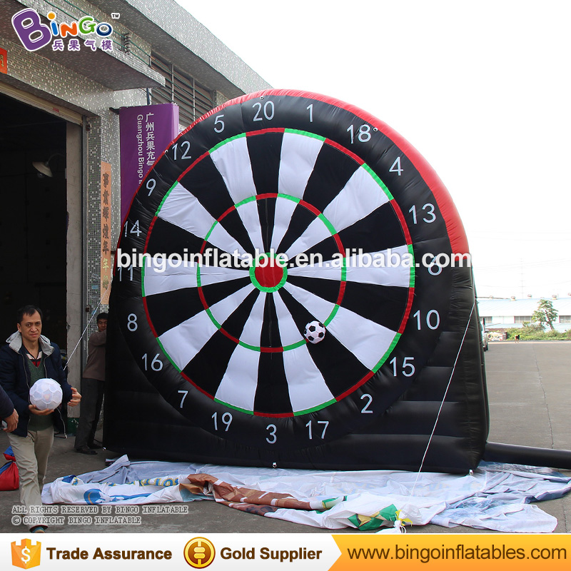 Inflatable dart game inflatable soccer dart board for sale