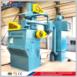premier advanced Q32 Belt Type metal finishing Shot blasting surface preparation machine made in china