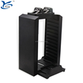 High quality PS4 games disk display stand storage Multifunctional Charging Dock for Playstation