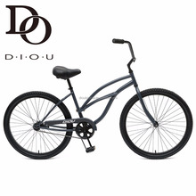 Most Popular 26'' Beach Bike Single Speed Women's Beach Cruiser Bike