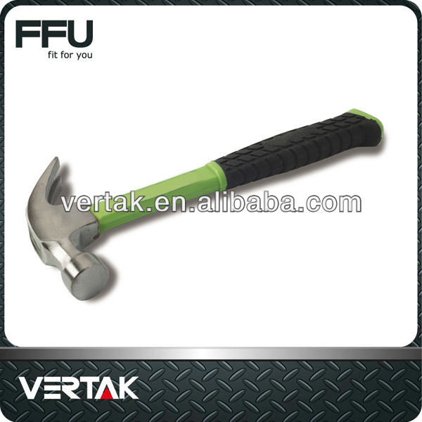 16 oz claw hammer with fibreglass handle
