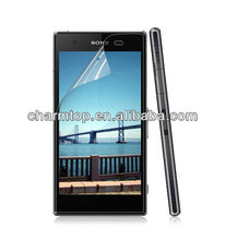 Transparent Screen Protector for Sony Xperia Z1