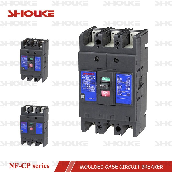 SKP NF-SP series mitsubishi NF mccb moulded case circuit breaker