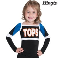 Wholesale high quality girl's cheer dance costumes