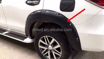 Guangzhou Wholesale price fender flares for toyota 2016 fortuner body kit
