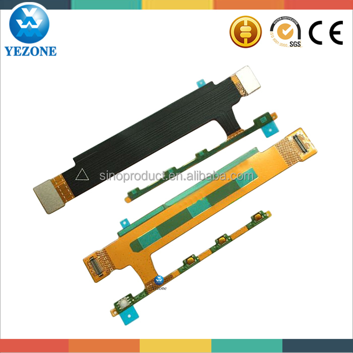 Guangzhou Suupier Cell Phone Spare Part For Sony Xperia T3 Volume Flex Cable
