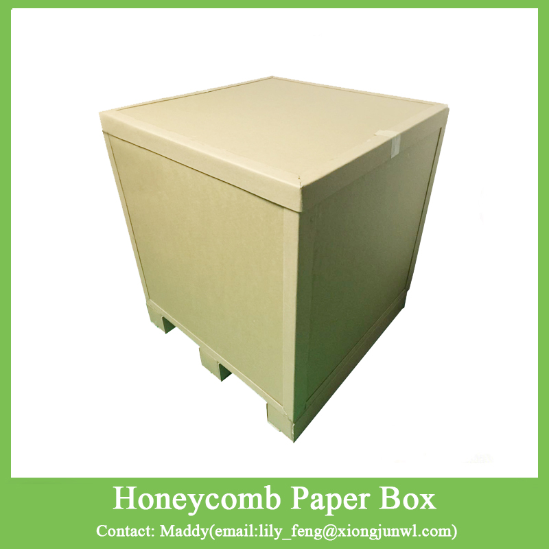 Heavy Duty Honeycomb Paper Pallet Box Transportation Shipping Box