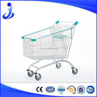 210L European style Supermarket Shopping Cart