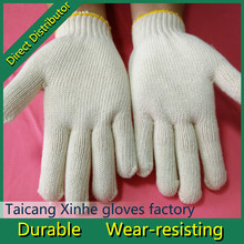 10gauge 100% cotton industrial gloves mechanical work gloves