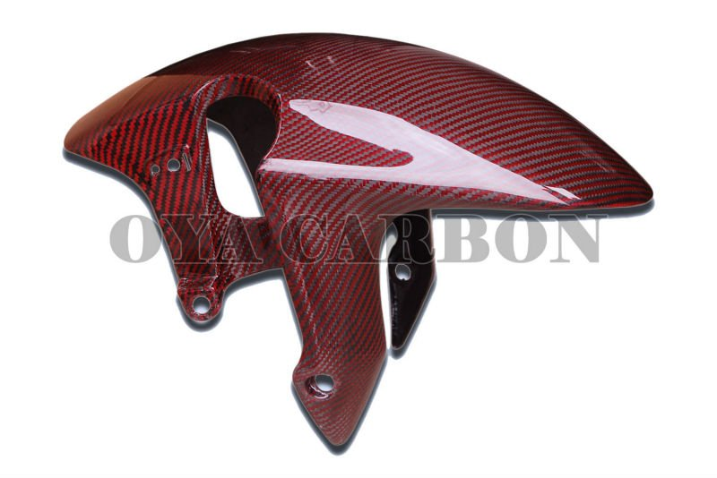 Carbon Fiber Red Color Front Fender for CBR1000RR 08-09