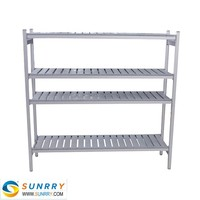 Good Quality Aluminum shelving units and warehouse rack 4 Layers pallet racking system (SY-AS30C SUNRRY)