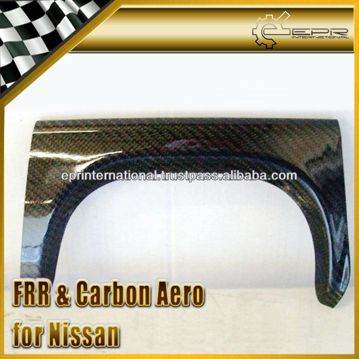 For Nissan Skyline R34 GTR Carbon Fiber Rear Bumper Exhaust Heat Shield