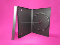 14mm single and double machine pack black DVD cases