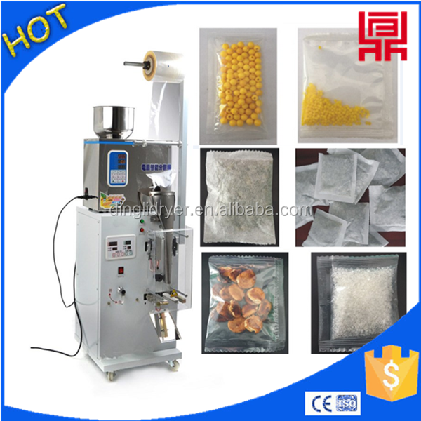 Fruit candy/potato chips packing machine 2016 hot sale of packer machinery