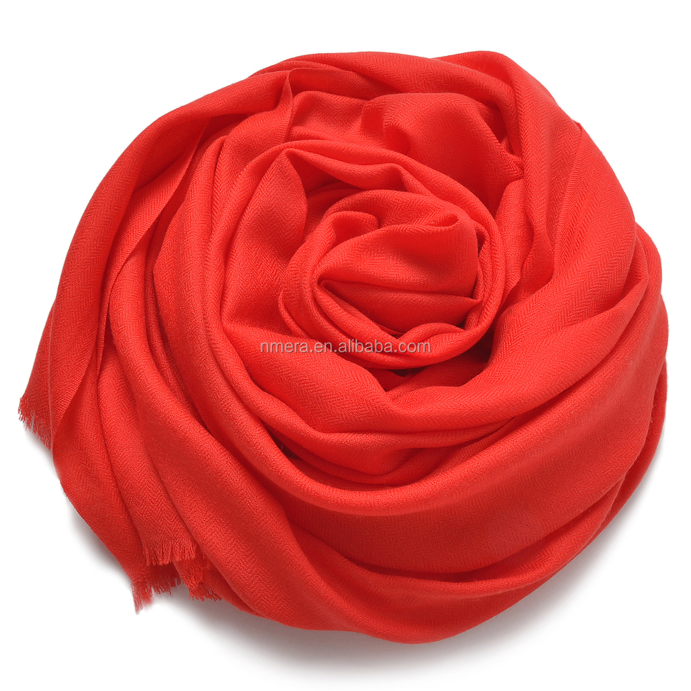 hot selling new fashion pure Wool High Quality Ladies Scarves inner mongolia factory SWR0020