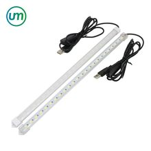 USB Switch Led Rigid Light Adjustable 35CM 7W SMD 5630 Hard Bar Light Tube Lamp DC5V